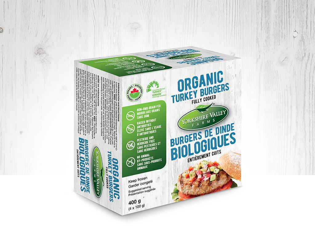 Yorkshire Valley Farms - Organic Turkey Burgers