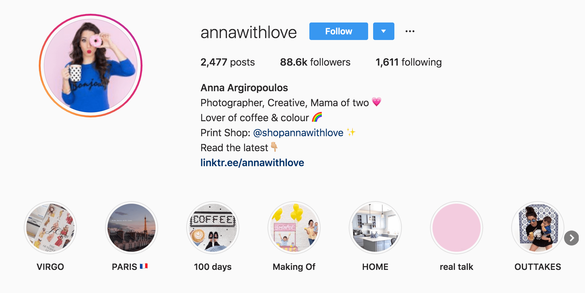 Anna with Love