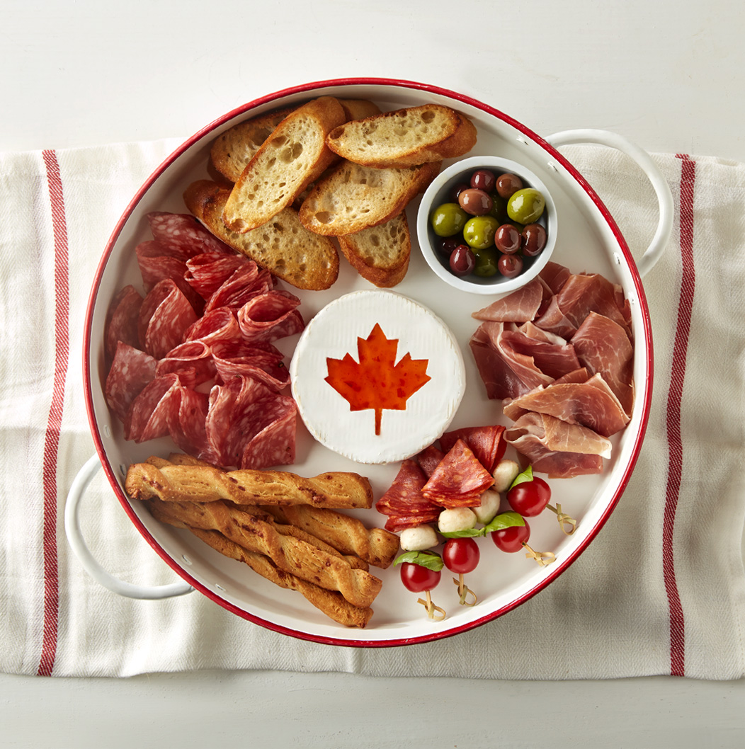 Canada Day Charcuterie Board