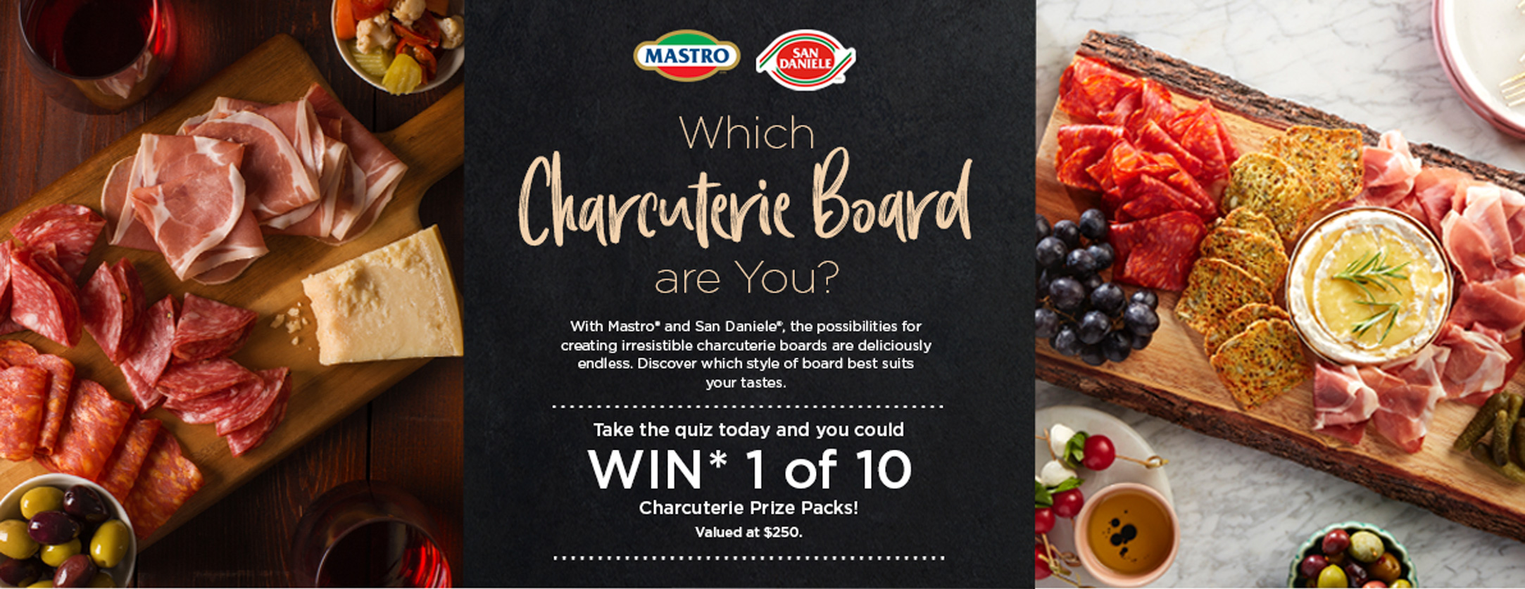Mastro Charcuterie Board Contest