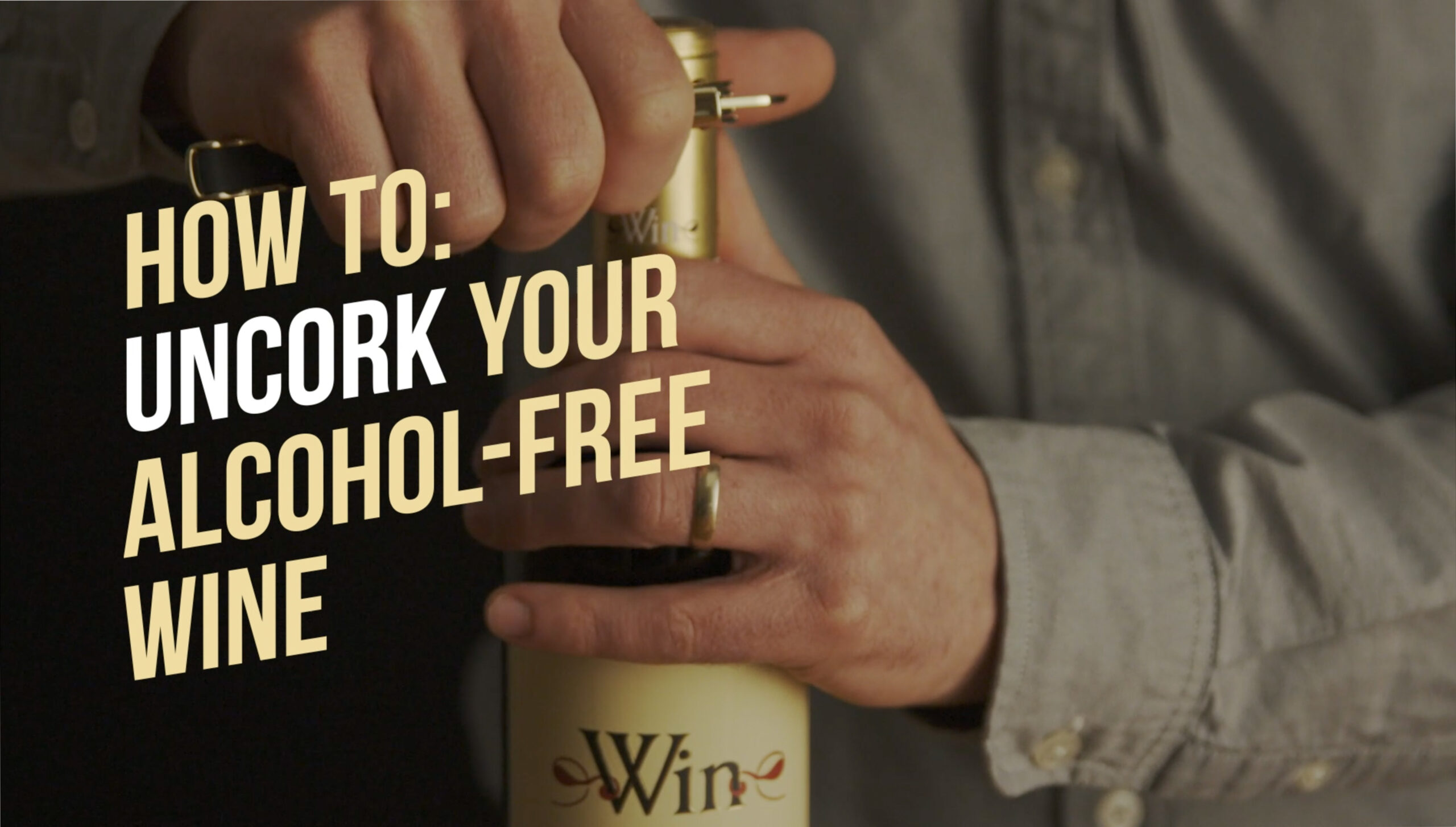 Rival House How to uncork your alcohol-free wine