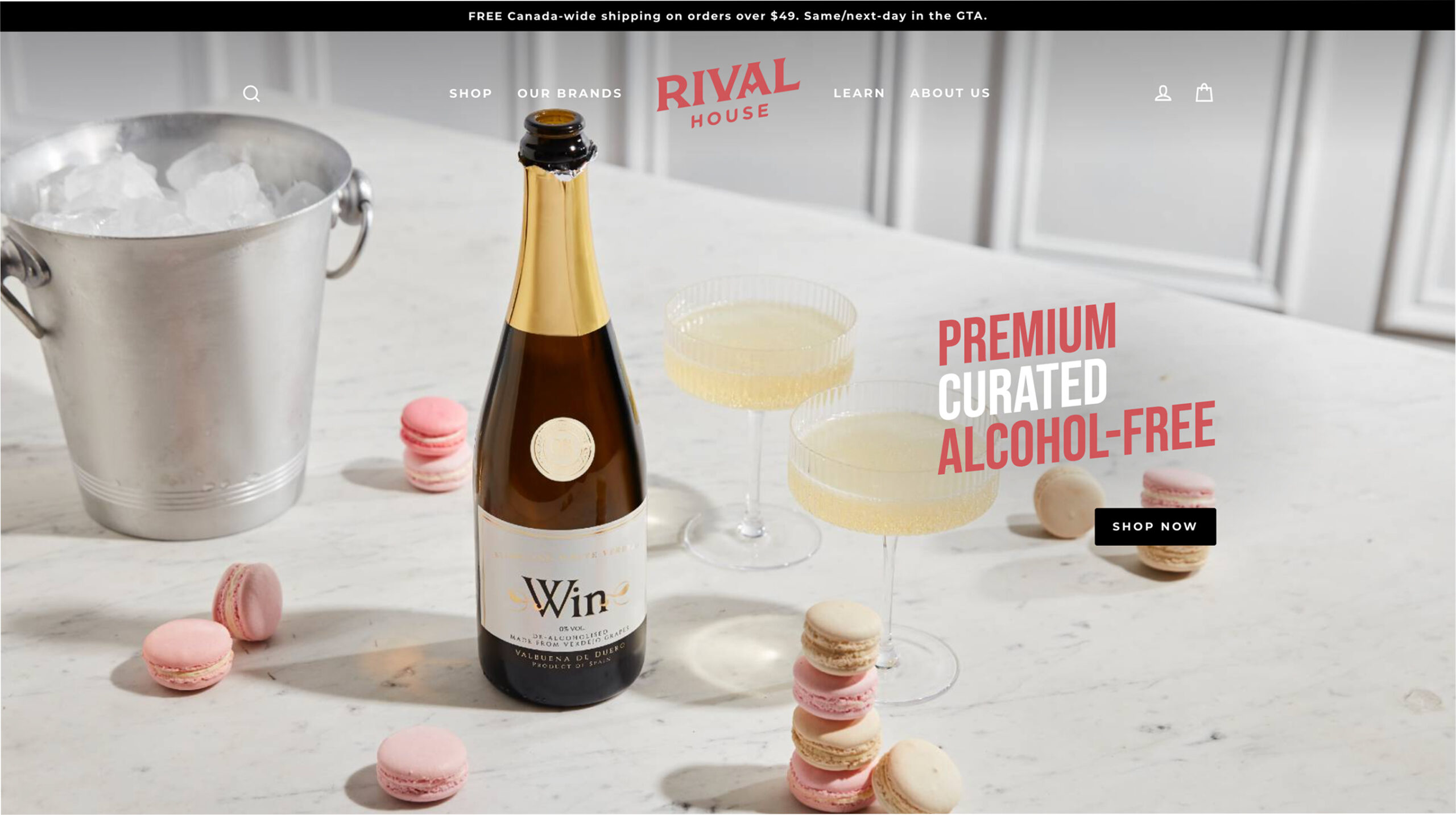 Rival House Website